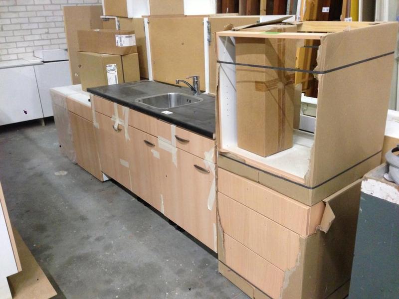 Keller Keukens Onderdelen : Keukenblok en diverse onderdelen keller onlineveilingmeester