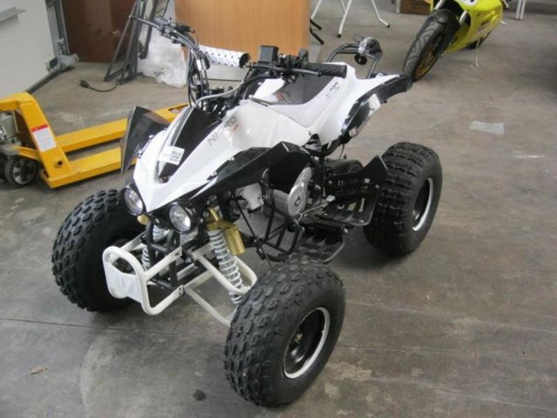 1 quad nitro motors 125cc type panther sem. Black Bedroom Furniture Sets. Home Design Ideas