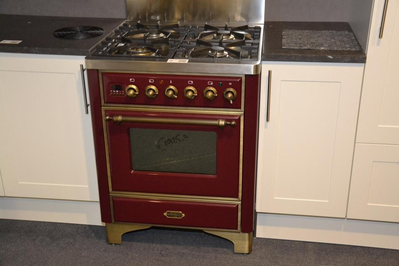 Ongekend Fornuis Boretti Majestic, 4-pits, met gas oven, inclusief rvs NA-37