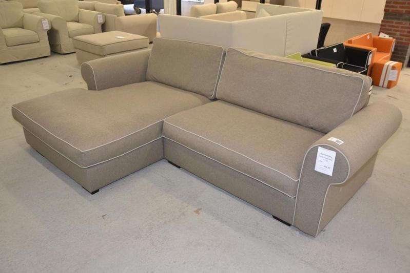 Lounge bank linnen bxl ca 275x170cm duits - Bank cabriolet linnen ...