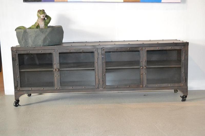 Metalen Tv Kast : Tv meubel metaal op maat gemaakt meubels oldnew styling