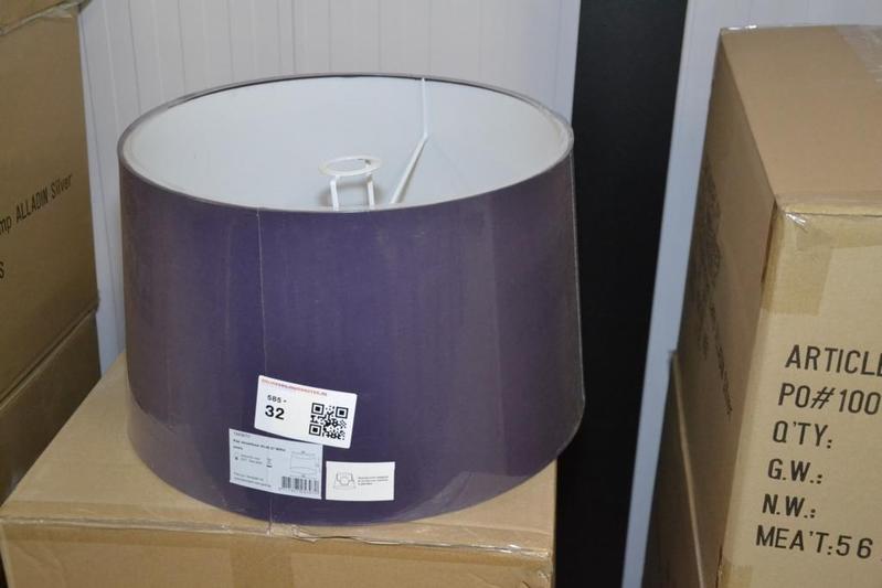 Ca. 10x Lampenkap, paars, Lightmakers, ca. 40x45x27 cm