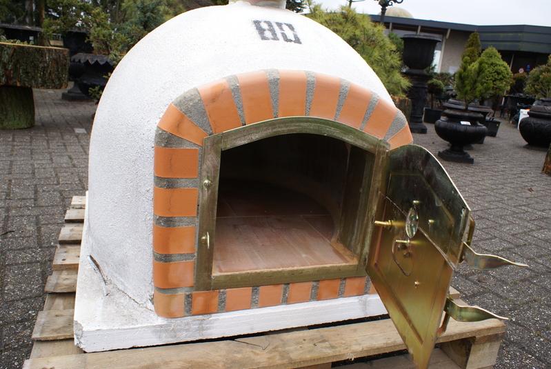 Pizza Oven Tuin : Pizza oven broodoven vuurvast ovensteen voorzien van schoorsteen