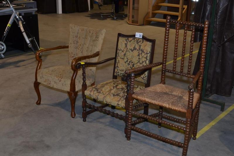 Jaren 50 Stoel : 3x stoel jaren 50 divers onlineauctionmaster.com
