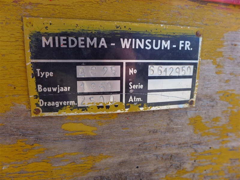 Onwijs Boerenwagen Miedema, bouwjaar 1961 - Onlineveilingmeester.nl CN-09