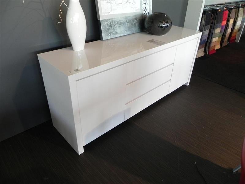 Dressoir hoogglans wit elegant tv meubel wit eiken cheap tv meubel
