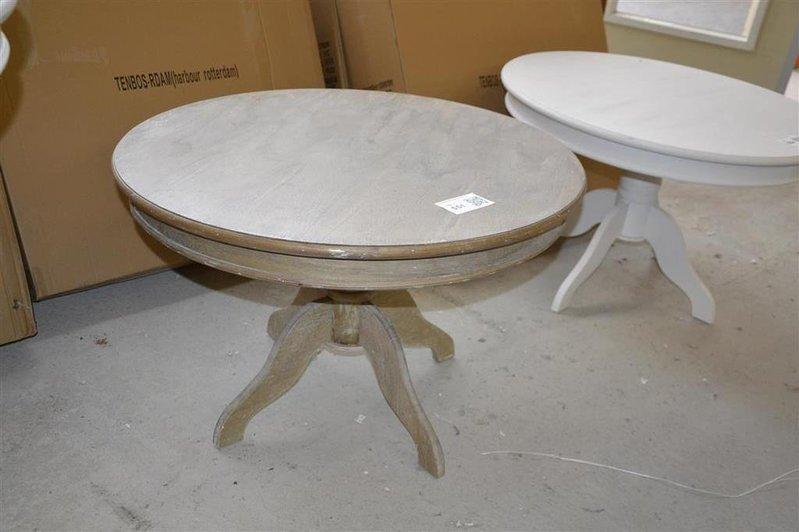 tafel riverdale houtkleur rond hoogte ca