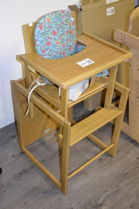 Kinderstoel Hout Verstelbaar.Kinderstoel Bopita Hout Met Verstelbaar En Aanschuifbaar Eetblad Ook Als Tafel En Stoel Te Gebruiken