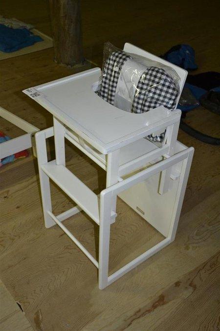 Kinderstoel Wit Hout.Kinderstoel Bopita Wit Hout Tevens Als Tafel En Stoel Te