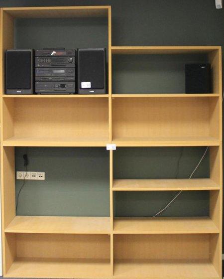 boekenkast mdf afm bxdxh ca 200x42x248 cm