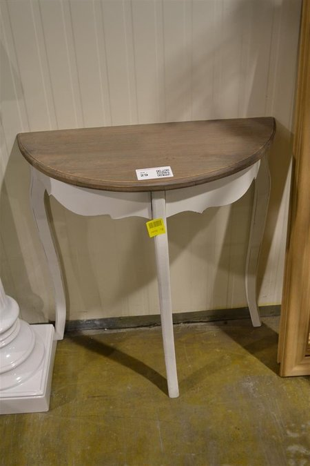 Sidetable Wit Hout.Sidetable Wit Hout