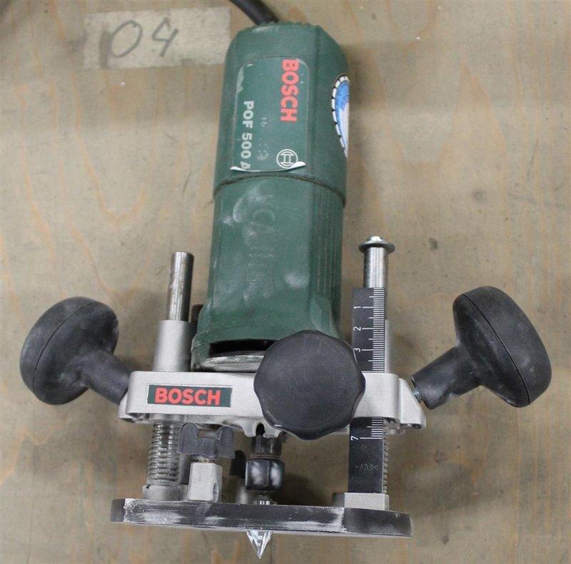 bovenfrees bosch pof 500 a 500 watt 27000 rpm