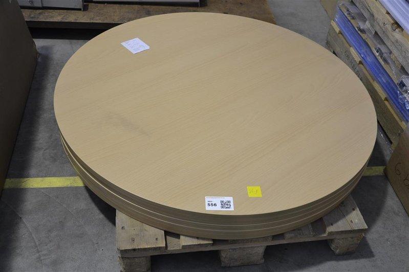 Tafelblad Rond 100 Cm.Rond Tafelblad 150