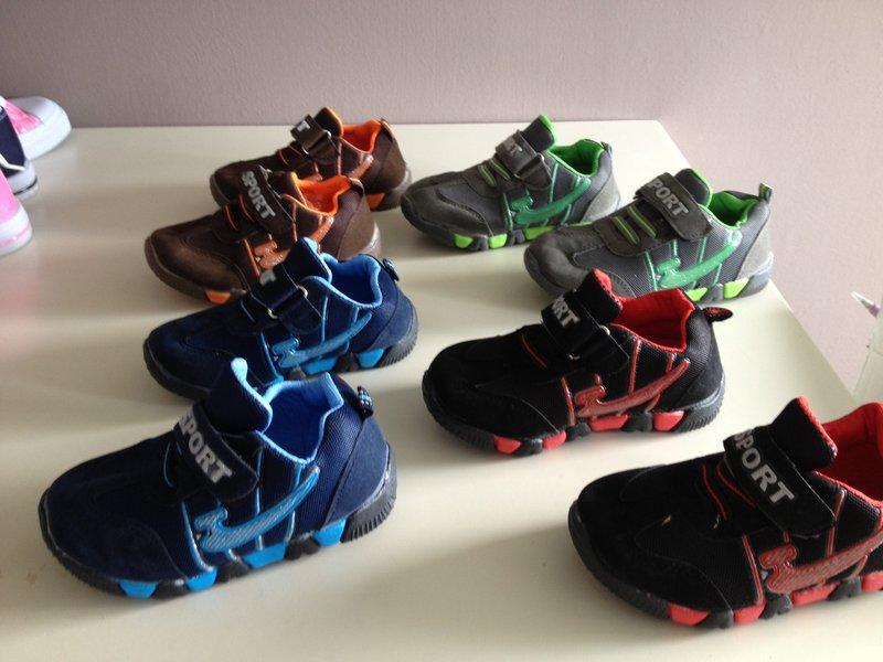 Kinderschoenen 29.Ca 60 Paar Kinderschoenen Nieuw 2 Kleur Model Maat 24 Tot 29