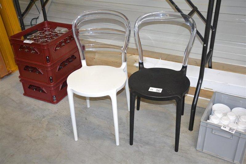 Design stoel kunststof hoogte ca cm zithoogte ca cm
