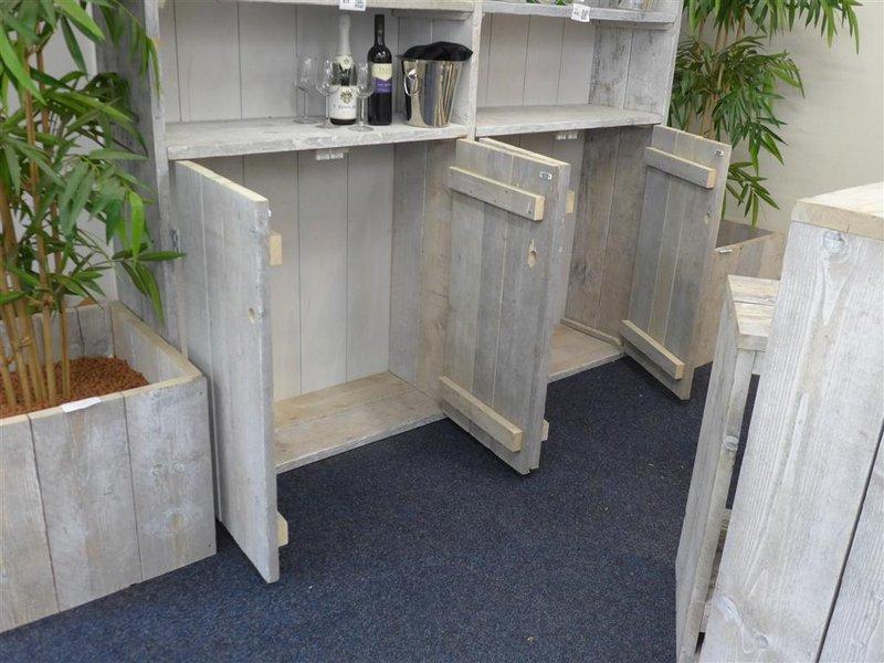 Kast White Wash : Kast steigerhout whitewash afm hxbxd ca cm