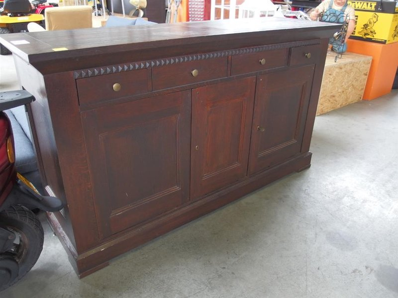 Sidetable Donker Hout.Dressoir Hxbxd 98x168x51 Cm Hout Donker Mahonie