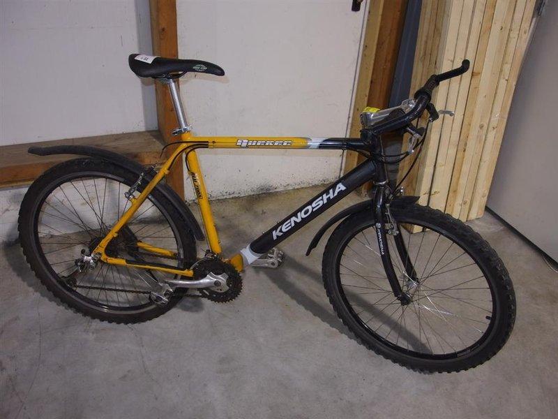 Verwonderlijk Mountainbike Kenosha Quebee Alu 7005 - Onlineauctionmaster.com PV-89