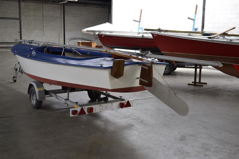 Verbazingwekkend Open zeilboot Flying Arrow, type Spanker, afm. lxb ca. 585x200cm LC-87