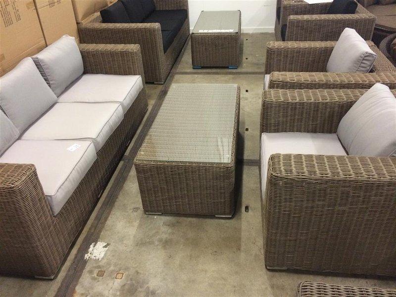 Luxe delige loungeset zitsbank van ca cm luxe
